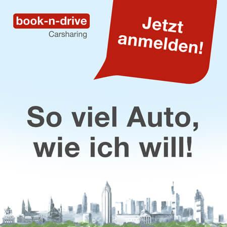 Werbung für book-n-drive